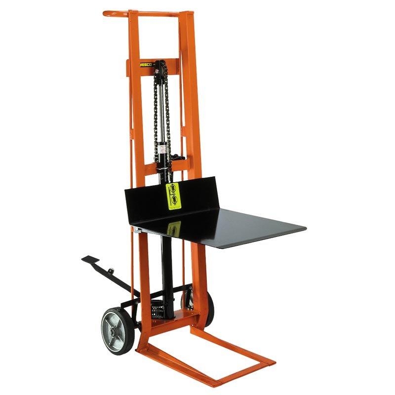 Hand Trucks R Us Wesco 2 Wheeled Hydraulic Lift Item